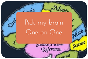 Pick my brain image