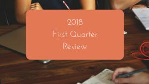 2018 – First Quarter review
